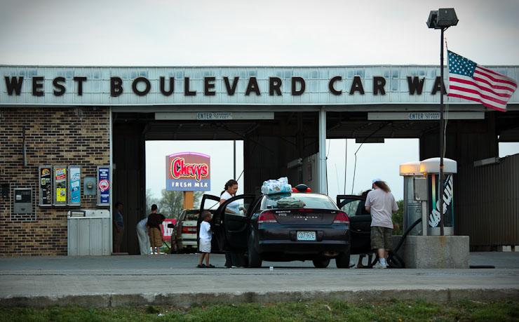 West Boulevard Car Wash, Columbia, Mo.