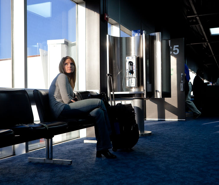 Gate C5, Lambert International Airport, St. Louis, Mo. - 20 March 2009