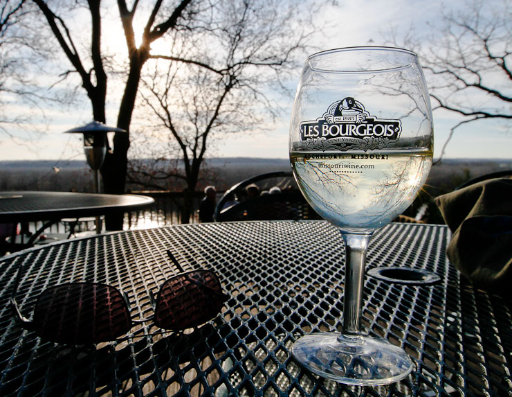 Les Bourgeois Winery, Rocheport, Mo.  Canon 7D and 16-35mm f/2.8 L II lens @ 16mm; exposed 1/500 sec. @ f/14, ISO 400