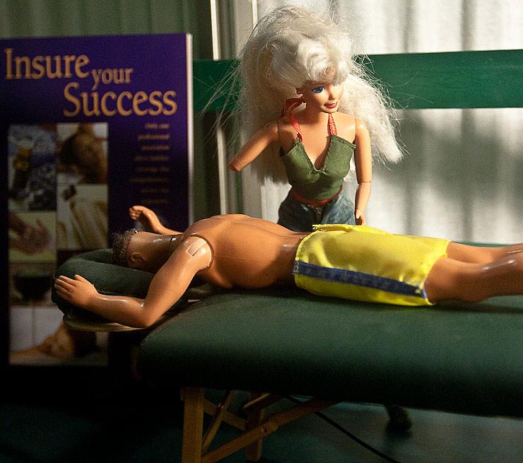 Thirty Days - Day Twenty-six - Barbie Massage Parlor