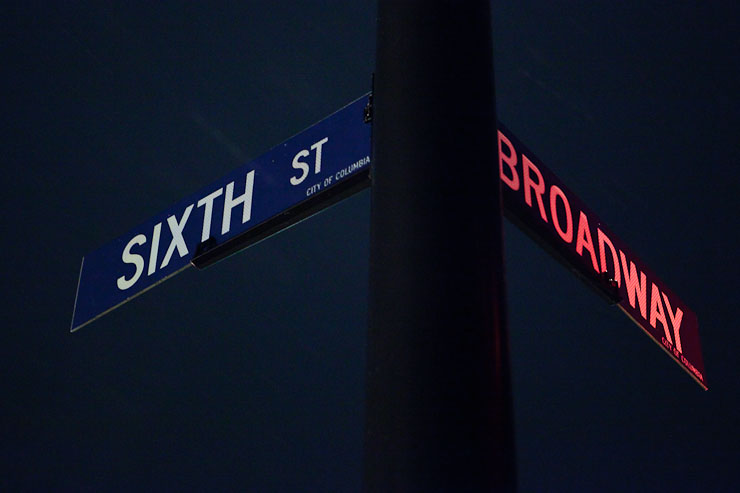Thirty Days - Day Five - Intersection of Broadway and Sixth Street