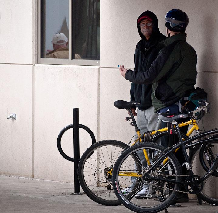 Thirty Days - Day 18 - Sidewalk Conversation