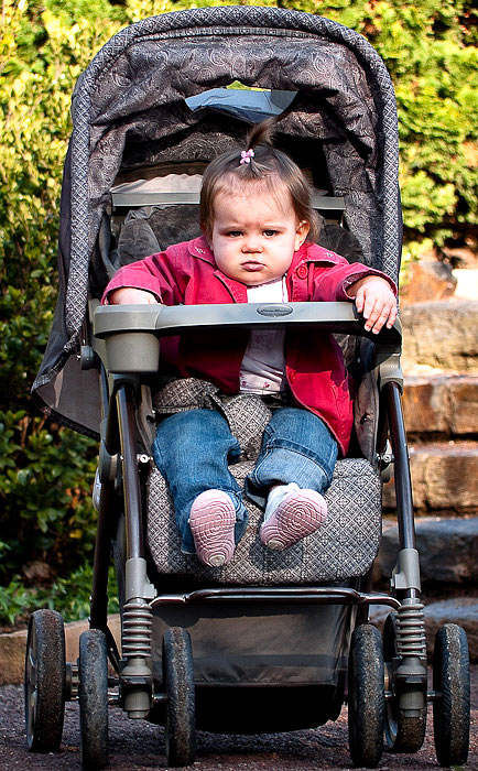 2nd Thirty Days - Day Twenty-seven - One angry baby...