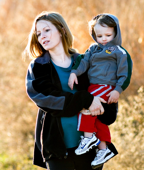 2nd Thirty Days - Day Fourteen - Heather and Kolton Carmichael at Stephens Lake Park