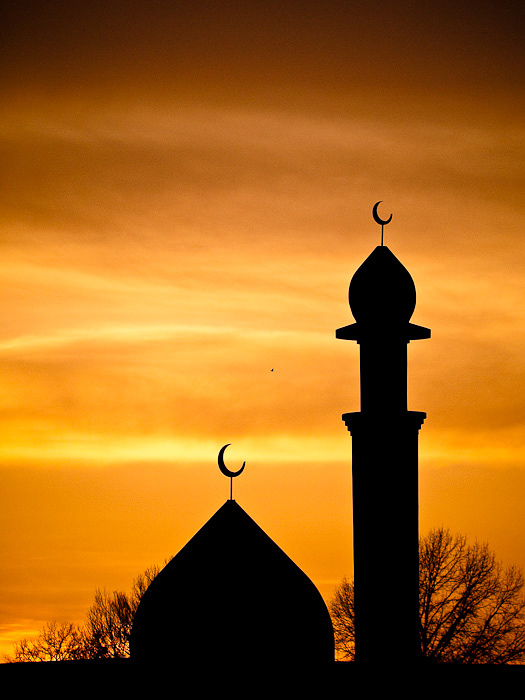 2nd Thirty Days - Day Eleven - Sunset over the Locust Street Mosk