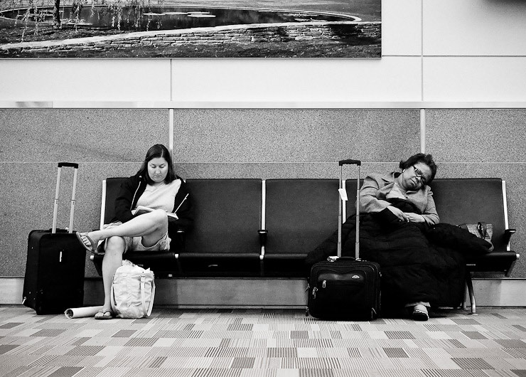 6:00am, Gate C9, Raleigh-Durham International Airport