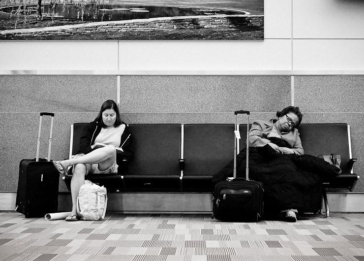 6:00am, Gate C9, Raleigh-Durham International Airport