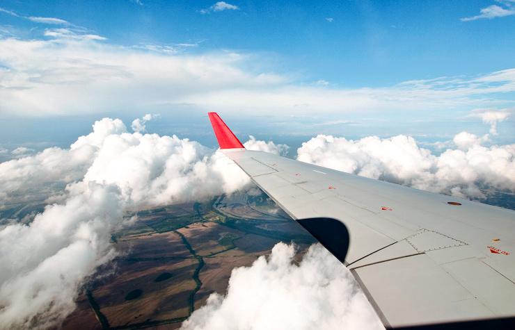 Flying over Memphis