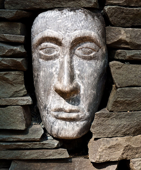 Head in a Cairn