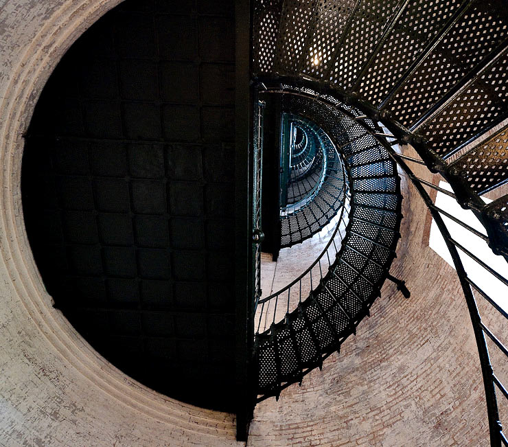 Spiral Staircase in the Currituck Beach Light Station