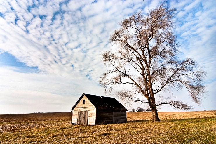 Barn in Gilman, Iowa
