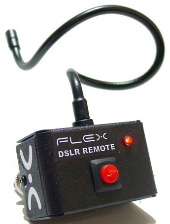Switronix video remote for 5D Mark II and 7D