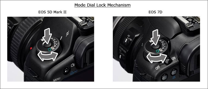 Mode dial lock