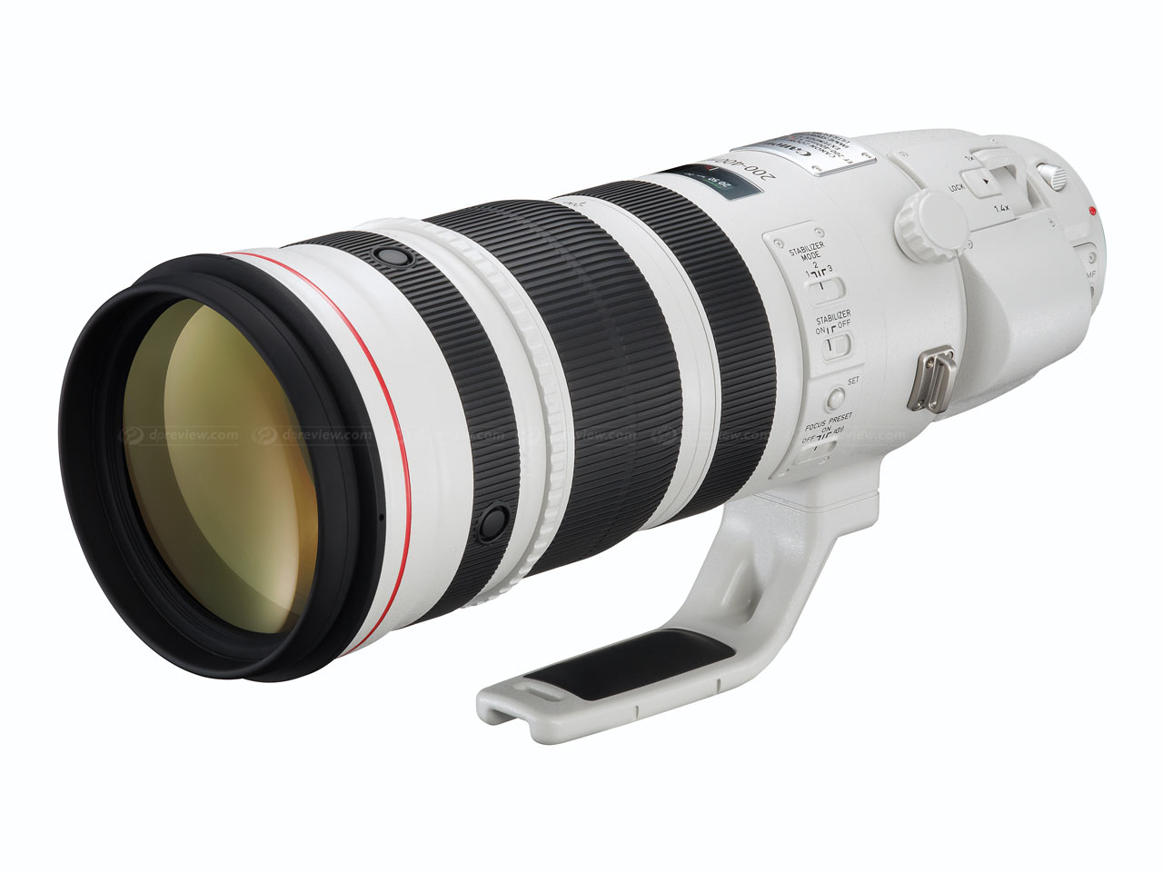 Canon 200-400mm f/4L IS Lens with built-in 1.4x TC