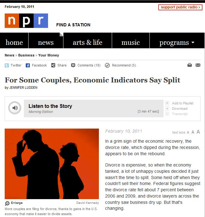 My photograph on NPR