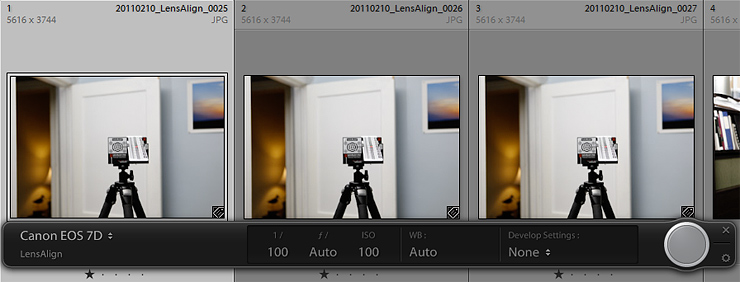 Tethered capture in Adobe Lightroom