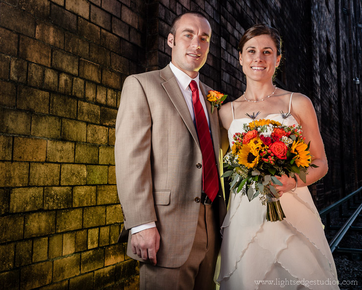 Alissa and Paul, Buffalo Trace Distillery, Frankfort, Kentucky